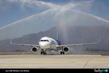 LAN presentó su más reciente adquisición el Airbus A-321