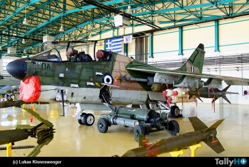 Fuerza Aérea Helénica, retiró del servicio los A-7