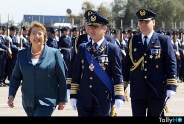 Cambio de mando en la Fuerza Aérea de Chile