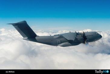 Fuerza Aérea Alemana recibe su primer Airbus A-400M