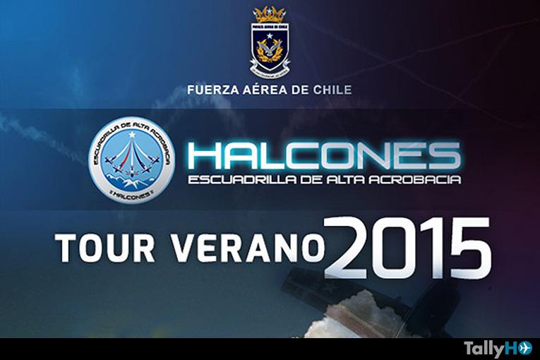 """Tour Verano 2015 de la escuadrilla de alta acrobacia """"Halcones"""""""