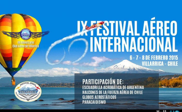 IX Festival Aéreo de Villarrica