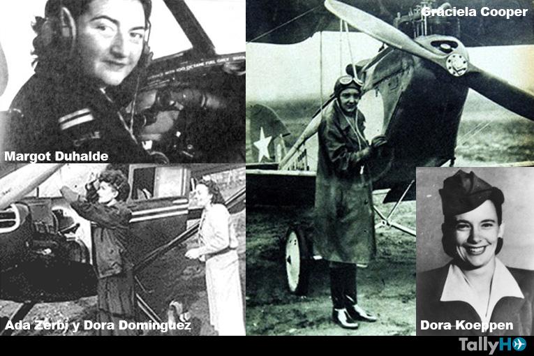 Coraje, ímpetu y obstinación de las mujeres pioneras de la aviación chilena