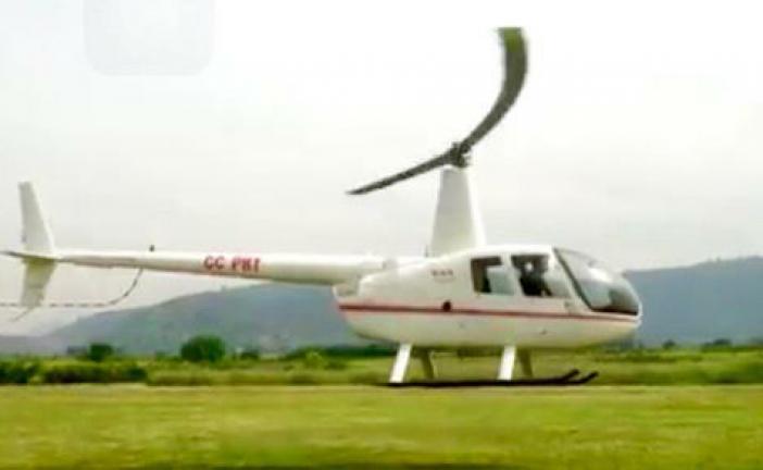 Accidente de helicóptero en Bío Bío, deja tres fallecidos