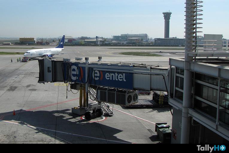 DGAC declara alerta amarilla en Aeropuerto Arturo Merino Benítez