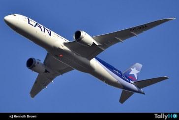 Primer Boeing 787-9 Dreamliner de LAN llega a Chile