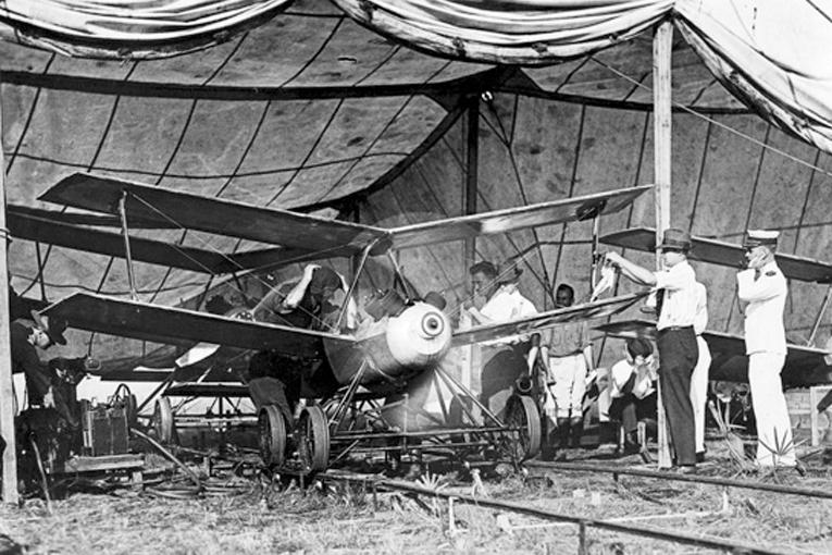 ¿Vehículos aéreos no tripulados, surcando los cielos en 1918?