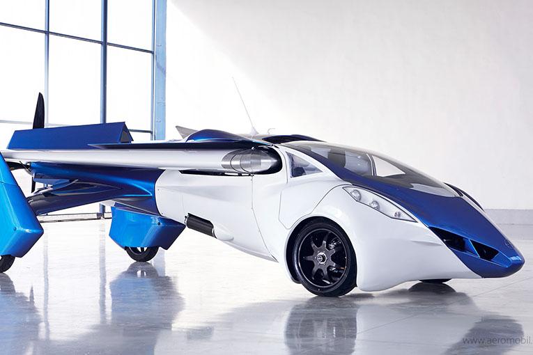 AeroMobil 3.0, el primer prototipo de auto volador del mundo