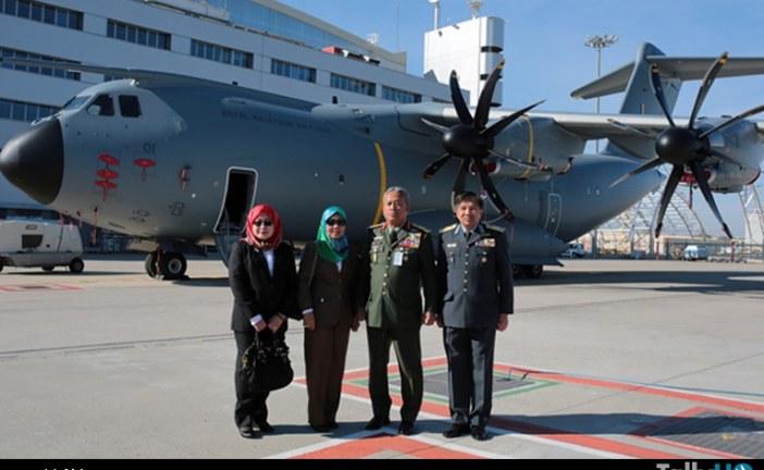 Malasia recibe su primer Airbus A400M