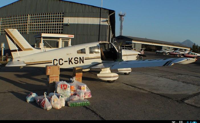 Operaciones del Club Aéreo de Santiago, en el Puente Aéreo a la región de Atacama