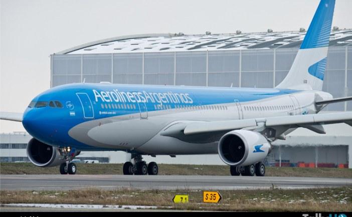 Aerolíneas Argentinas recibe su primer A-330-200 en el marco de renovación de su flota