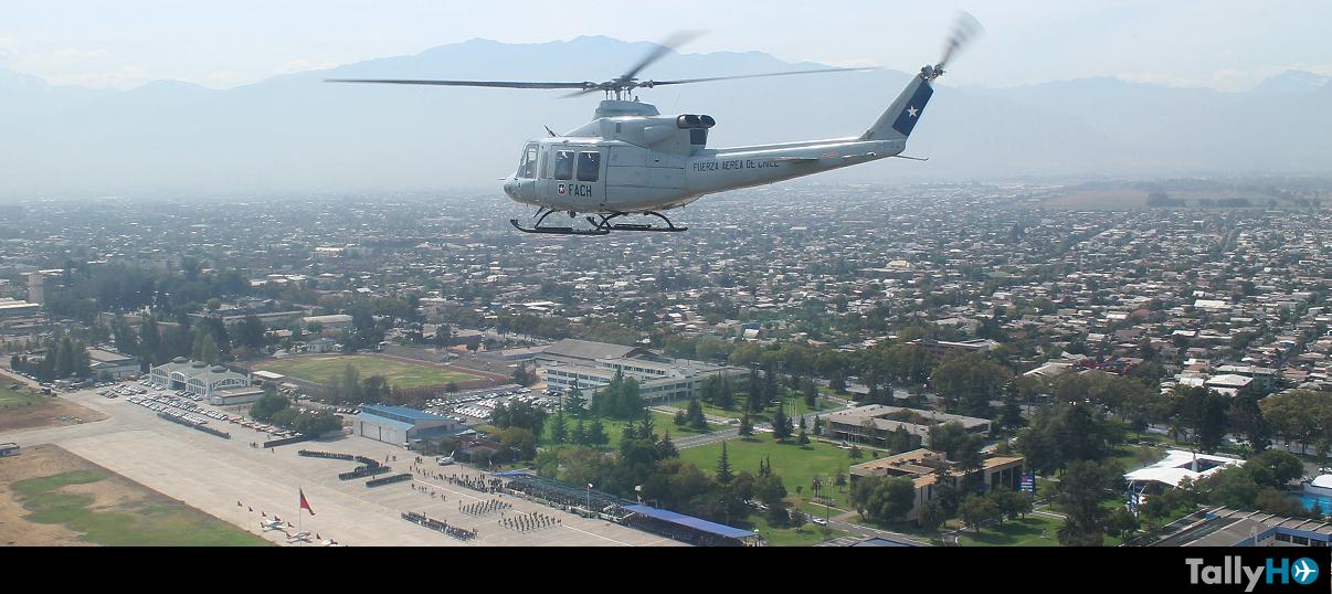 85 Años de la Fuerza Aérea de Chile, desde el aire