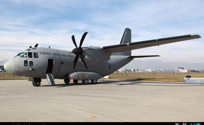 Finmeccanica-Alenia Aermacchi, entrega primer avión C-27J Spartan al Perú