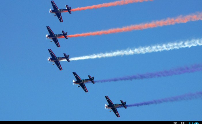 Escuadrilla Halcones confirmada para participar en el Domingo Aéreo en Brasil