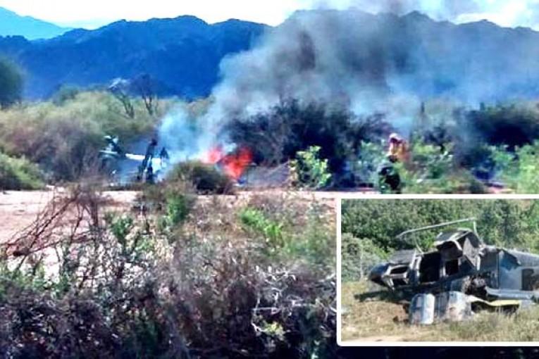 Diez muertos al chocar dos helicópteros en La Rioja