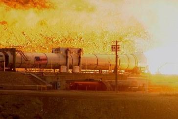 NASA prueba cohete que busca llevar humanos a Marte