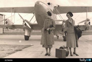 80 años de vuelos internacionales de Qantas