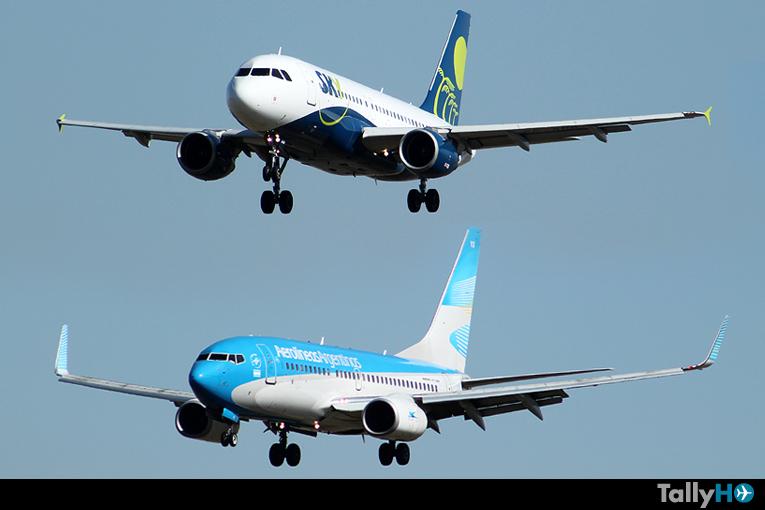 SkyAirline y Aerolíneas Argentinas firman estratégica alianza comercial