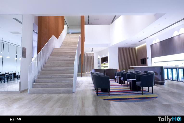 LAN y TAM inauguraron flamante Salón VIP en el Aeropuerto Internacional de Santiago