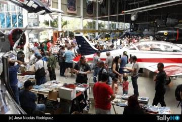 Primera «Pulga Hobby» 2015, en el Museo Nacional Aeronáutico y del Espacio