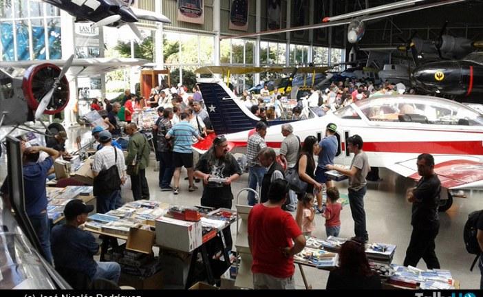 """Primera """"Pulga Hobby"""" 2015, en el Museo Nacional Aeronáutico y del Espacio"""