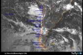 Tecnología satelital al servicio de la Dirección Meteorológica de Chile