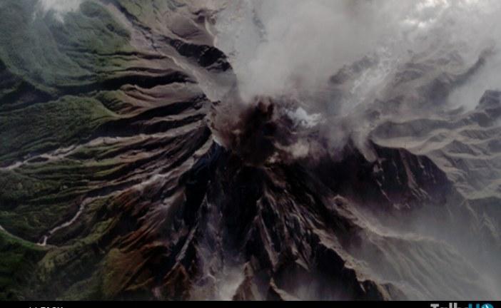 El volcán Calbuco, captado por el satélite chileno FASAT Charlie
