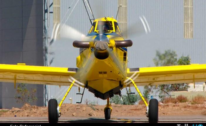 CONAF anuncia la incorporación de tres aviones  Air Tractor AT-802
