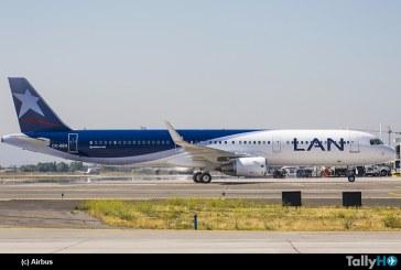 Airbus entrega el avión número 500 en Latinoamérica, a LAN Airlines