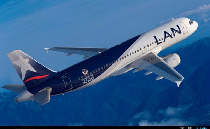 LAN y TAM, aerolíneas oficiales de la Copa América 2015
