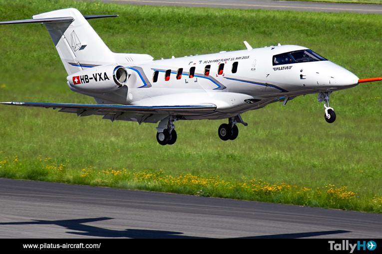 Exitoso primer vuelo del Pilatus PC-24