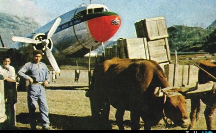 A 55 años del Puente Aéreo por el gran terremoto de Valdivia