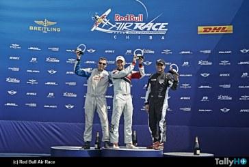 Cristian Bolton obtiene el tercer lugar en la 2ª fecha del Red Bull Air Race en Chiba, Japón