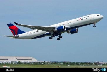 Primer A330-300 de 242 toneladas entregado a Delta Airlines