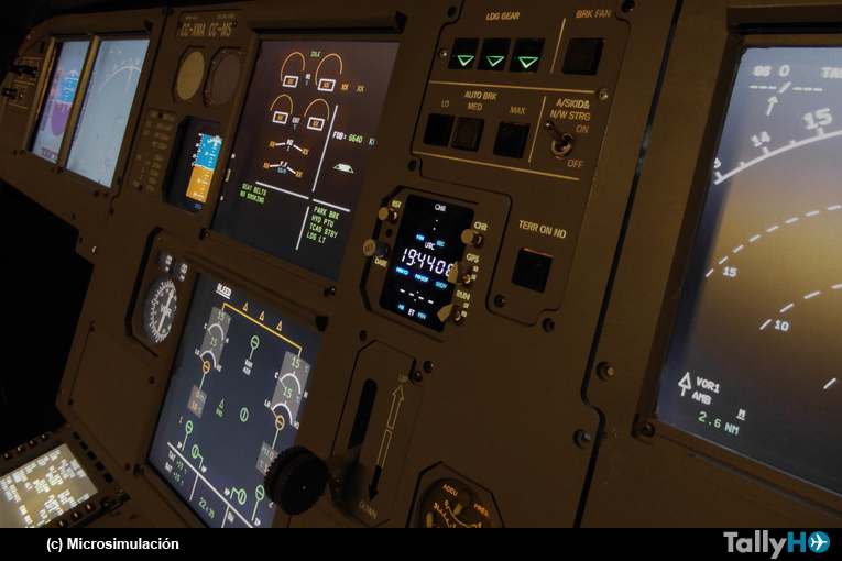 Microsimulación Flight Center, entrenando a los pilotos de hoy y del mañana