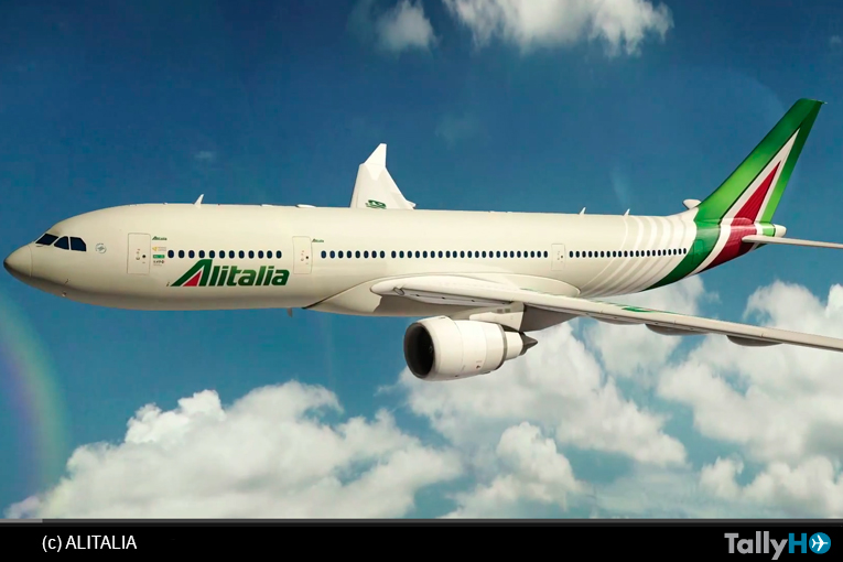 Alitalia, presenta la esperada «nuova livrea» para sus aeronaves