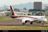 Mitsubishi MRJ inicia pruebas de taxeo