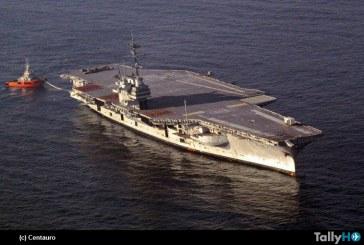 Exclusivo: Fuimos testigos del último viaje del ex portaaviones USS Ranger