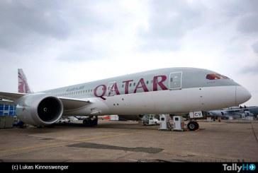La «invasión» de Qatar Airways en el salón Paris Le Bourget 2015