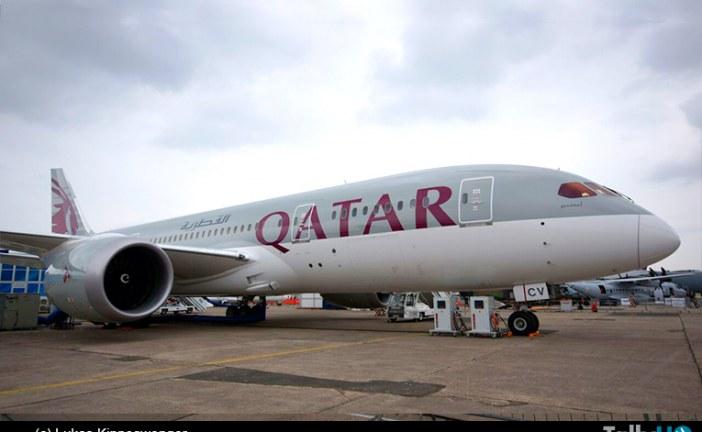 """La """"invasión"""" de Qatar Airways en el salón Paris Le Bourget 2015"""