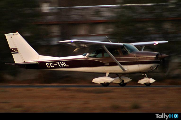 Se estrella avión Cessna 172 en Pelarco, Región de El Maule