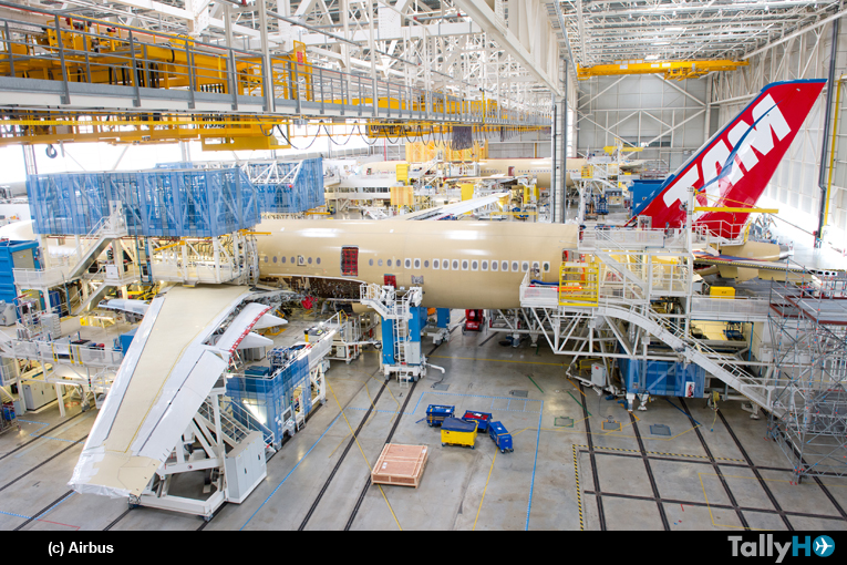 Grupo LATAM Airlines anuncia rutas que operará el Airbus A350 XWB