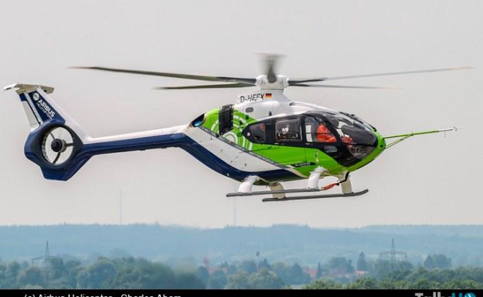 Helicóptero BlueCopter, tecnología ecológica pensando en el futuro