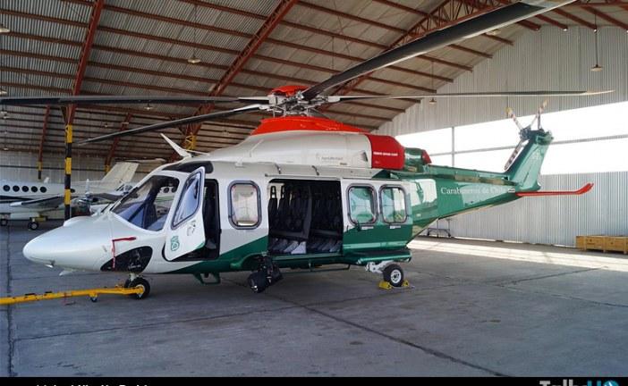 Agusta Westland AW-139, la nueva adquisición en la Prefectura Aérea de Carabineros