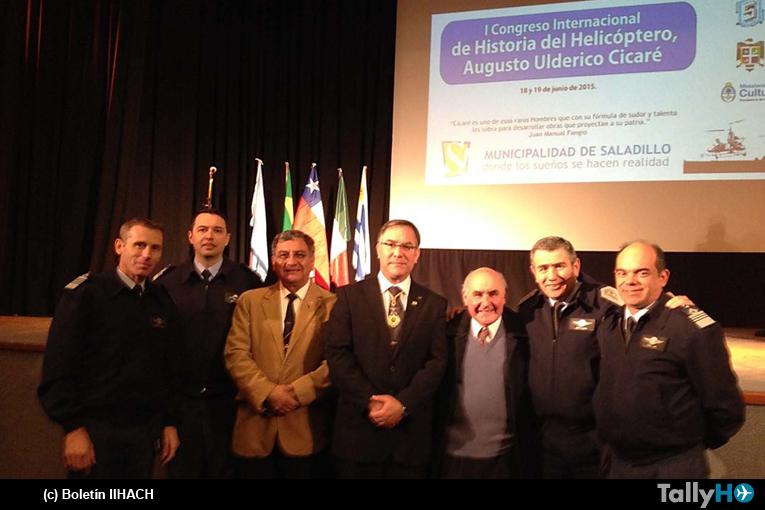 Primer Congreso Internacional de Historia del Helicóptero, Saladillo Argentina