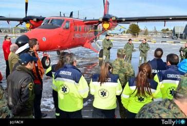Ejercicio de Búsqueda y Salvamento en la IV Brigada Aérea