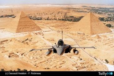 Fuerza Aérea de Egipto recibe sus primeros Rafale