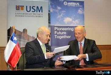 Airbus Defence & Space firma acuerdo con Universidad Técnica Federico Santa María