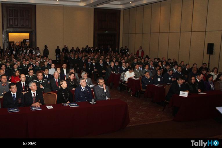 DGAC estuvo presente en la VII Feria Internacional de Seguridad FISEG 2015