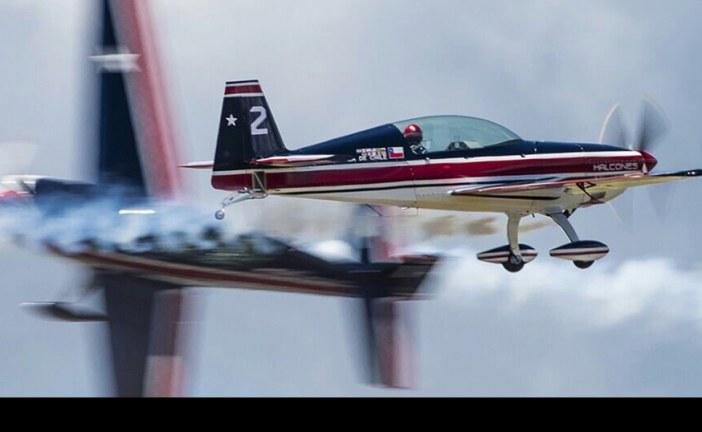 Notable presentación de Escuadrilla Halcones en el F-AIR 2015